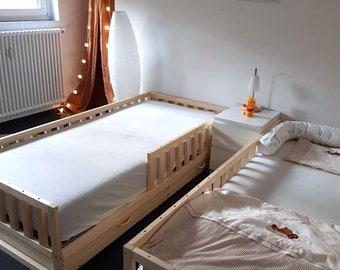 9a09c1f7e Cama del niño, cuna guardería, cama de los niños, cama de Montessori, cama  niño, cama de madera, sus hijos en casa, juguetes waldorf, dormitorio de  los ...