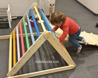 FREE DELIVERY ! Pikler triangle, Step Triangle, Climbing triangle for toddlers , Pikler dreieck !