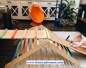 Climbing triangle, Step Triangle, Climbing ladder for toddler, Kletterdreieck, Climbing frame, www.home4dreams.com