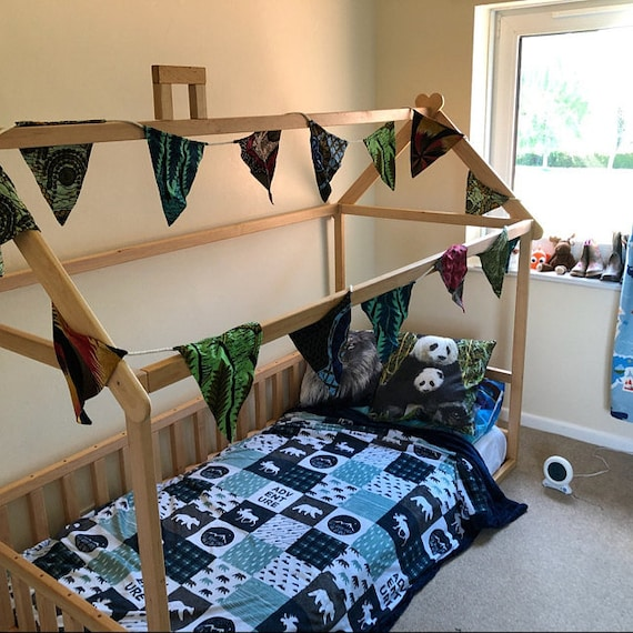 montessori bett haus bett kinderbett kinderbett kind bett. Black Bedroom Furniture Sets. Home Design Ideas