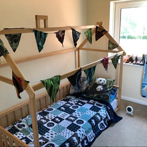 Montessori bed, house bed, children bed, Toddler bed, kid bed, wood bed, children home, waldorf toy, nursery crib, kids bedroom, floor bed