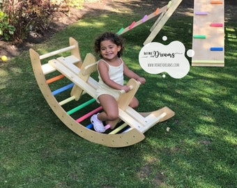 Climbing arch + accessories ( by choice). Climbing arch, climbing frame arch without triangle.
