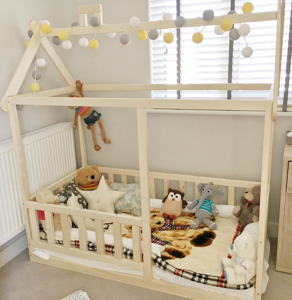 Toddler house bed! Children's bed, Montessori style bed