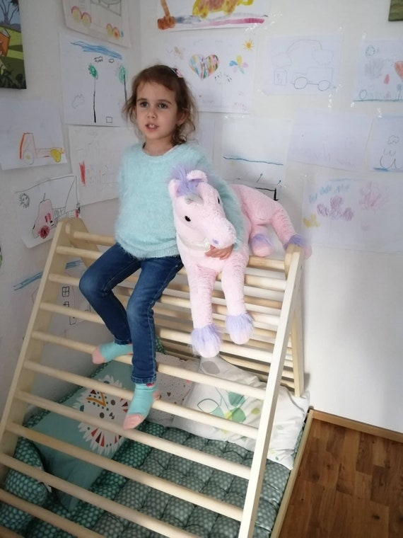 Climbing triangle, Baby climber, Climbing ladder for toddler, Pikler triangle,  Step Triangle, Triangle with ramp, Pikler dreieck