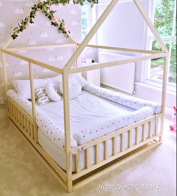 Toddler bed , children bed, Montessori  200x90 cm