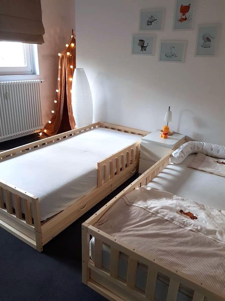 Toddler Bed Nursery Crib Children Bed Montessori Bed