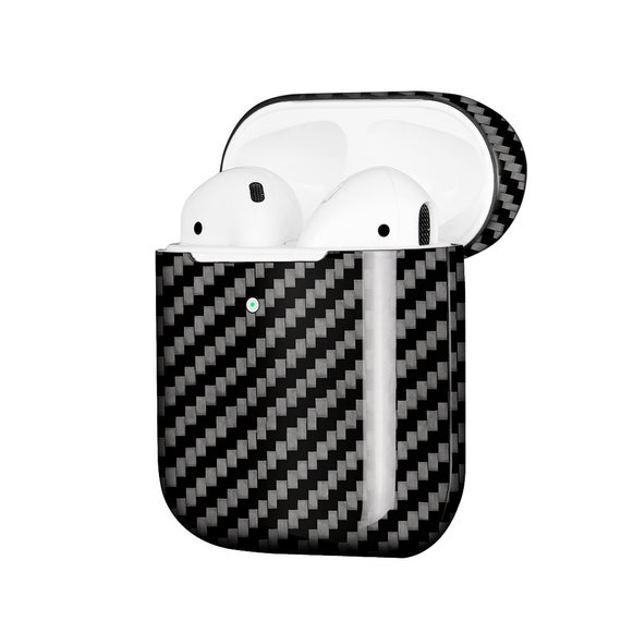 Carbon Fiber Apple Airpods 2 Earphone Protector Case Cover Etsy