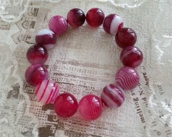 Bracelet of Agate, Stone bracelet