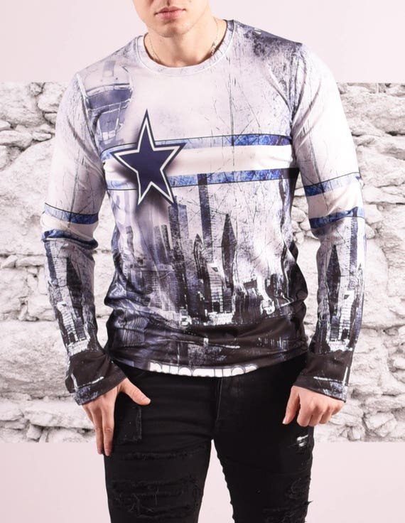 35c663c4d Sublimation Printed Long Sleeve T-Shirt/ 3D Printed Full   Etsy
