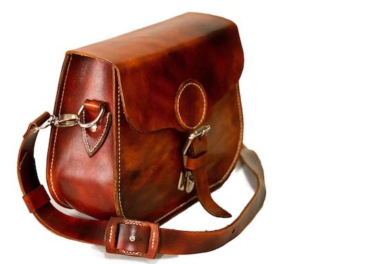 ce1a0955a823 Leather messenger bag for women leather shoulder bag women
