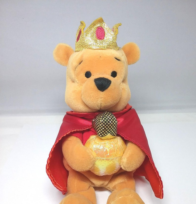 Pleasant Christmas Thee Kings Retired Vintage Winnie The Pooh Bean Bag Collectable Plush 8 Festive Plush Bean Bag Pooh Bear Ncnpc Chair Design For Home Ncnpcorg