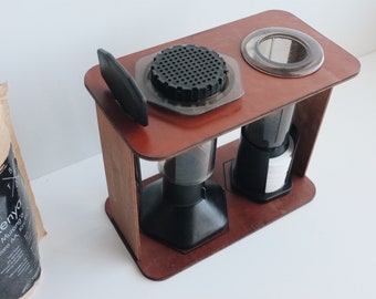 Wooden Station for AeroPress