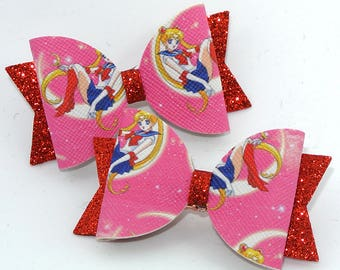 Anime Hair Bow Etsy
