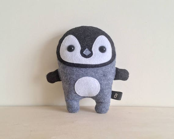 Penguin SEWING PATTERN PDF - Make Your Own - Instant download - Creative Activity Kit - Penguin Plush Animal Toy - Childrens Summer Project