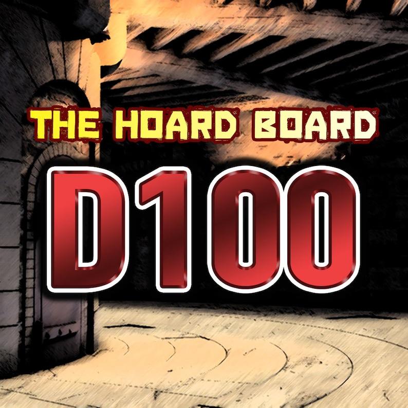 D100 Version DND Roll Chart The Hoard Board