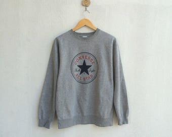 Vintage 90's Converse Sweatshirt Big Logo