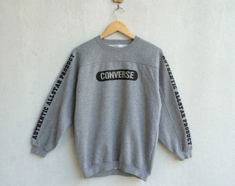 Vintage 90's Converse Sweatshirt Spell Out Nice Design