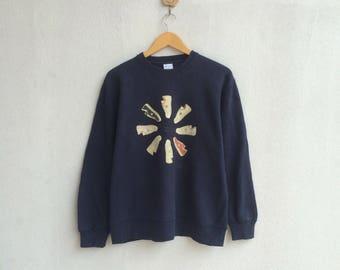 Vintage Converse Sweatshirt Nice Design