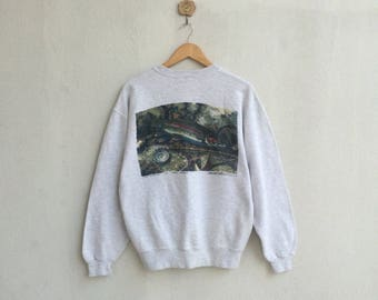 Vintage Sweatshirt by Mike Stidham Bass Design