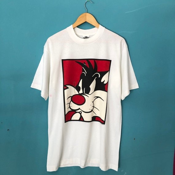 Vintage 90s Looney Tunes Sylvester Character Warne