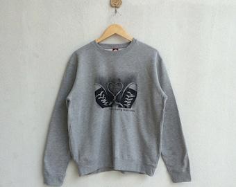 Vintage 90's Converse Sweatshirt Nice Design