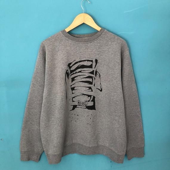 Vintage Stussy Sweatshirt / Vintage Stussy Crewnec