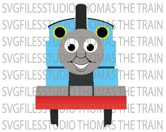 Thomas The Train DXF, Thomas The Train SVG Collection, Thomas The Train Clipart, SVG Files for Silhouette Cameo or Cricut  Eps, png, jpg