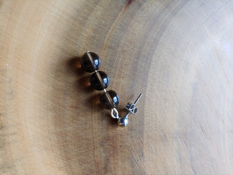 Smoky Quartz Dangle Earring