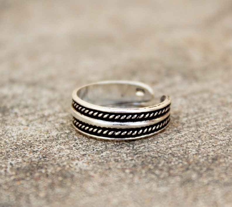 Fashion Jewelry Jewelry & Watches Boho Toering Ethnic Toering 2 Adjustable Toerings Wedding Footring Tribal Rings