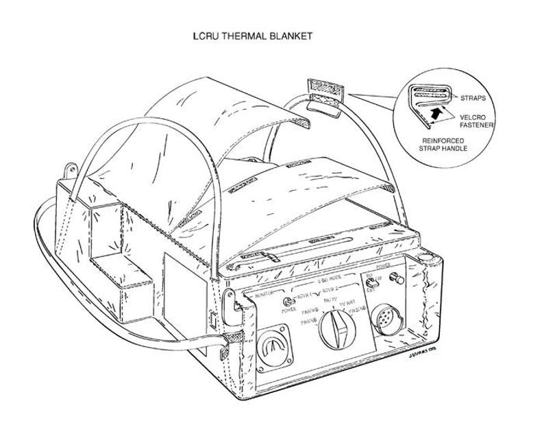 Nasa 1970 Concept Art Apollo 11 Moon Landing Mission Lcru