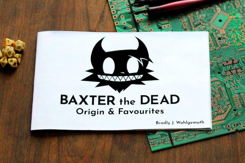 Baxter the Dead  Zine image 0