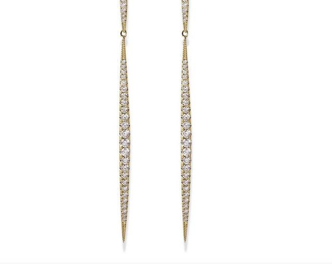 Dangle Spike Earrings