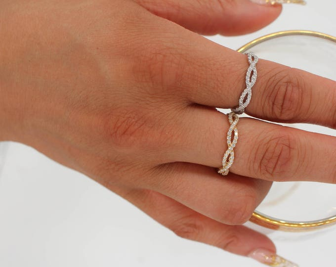Twist Band Ring