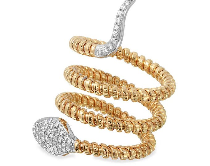 Snake Twist Band ring