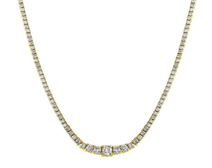 Adjustable Diamond Necklace