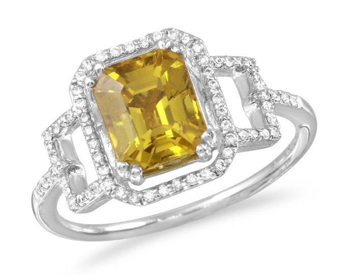 Maya Sapphire Ring