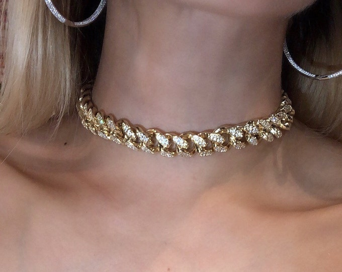 Iced Out Cuban Choker