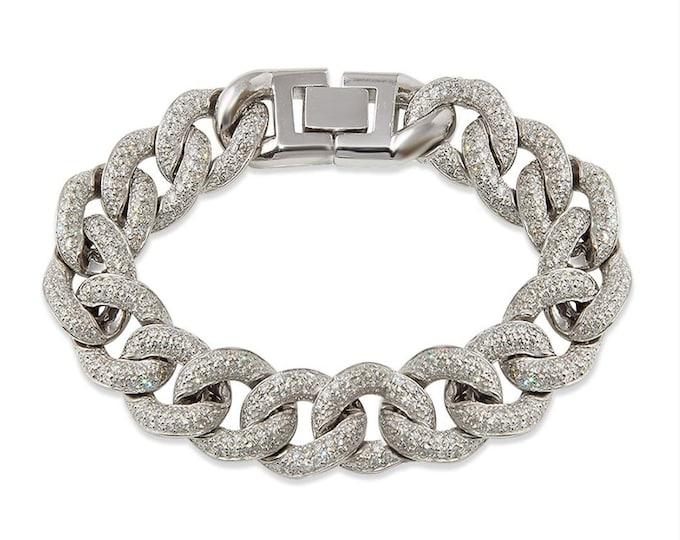 Diamond Cuban Link Bracelet