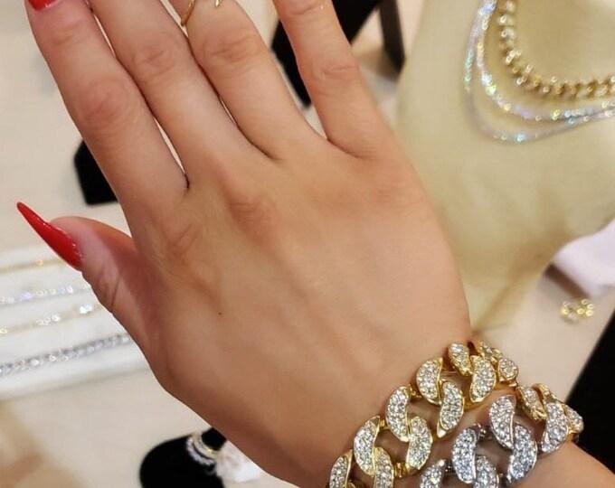 His & Hers Cuban Bracelet