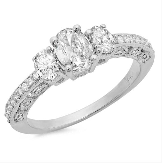 Wedding Rings Women Engagement Rings Diamond Rings Womens Etsy