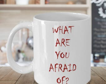 Stephen King 'IT' 11oz Mug - What Are Your Afraid Of?