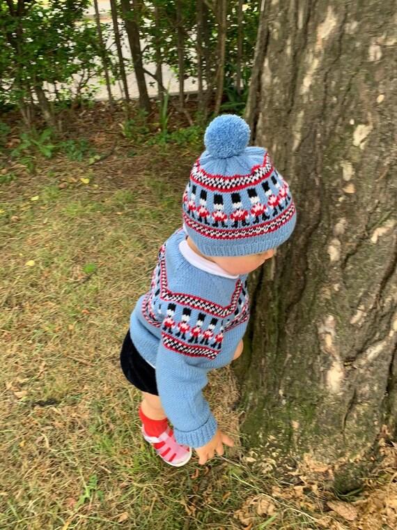 Children/'s Woolly Hat Beanie Hand knitted hat Babies Woolly Hat