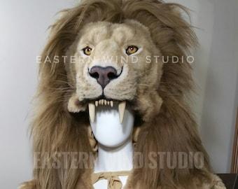 Lion Headdress Etsy
