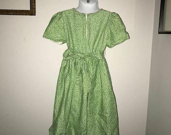 26531d86d84 Girls Vintage Sylvia Whyte Dress Size 5