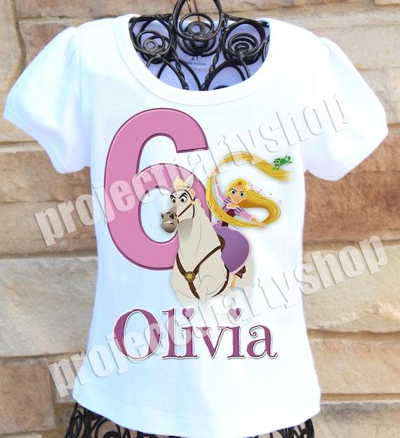 Rapunzel Birthday Shirt Tangled The Series