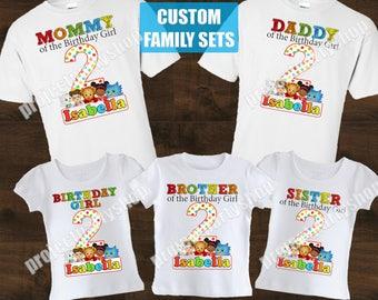 Daniel Tiger Family Birthday Shirts, Daniel Tiger Birthday Shirt