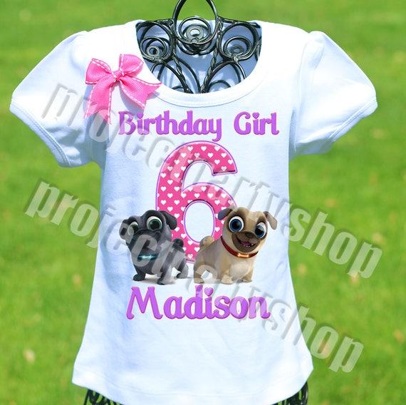 Puppy Dog Pals Birthday Shirt Puppy Dog Pals Mommy Shirt Etsy
