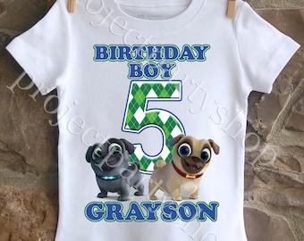 Puppy Dog Pals Birthday Shirt, Puppy Dog Pals Birthday Boy Shirt