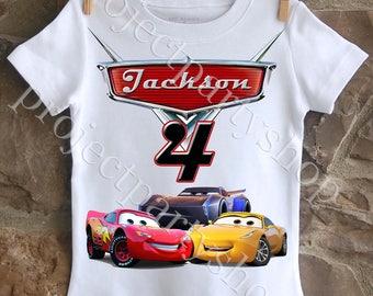 Cars 3 Birthday Shirt