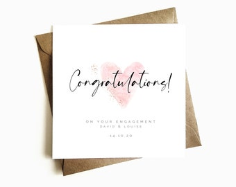 Personalised Text Minimalist Style Mr and Mrs Modern Congratulations HANDMADE Wedding Card Sister And Brother In Law
